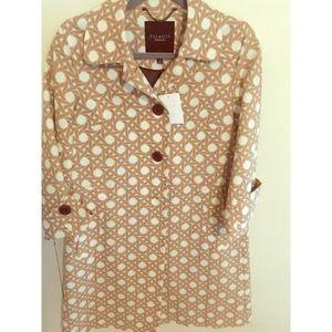 NWT TALBOTS vintage coat